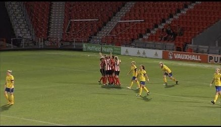 Doncaster Rovers Belles 1 Sunderland Ladies 4