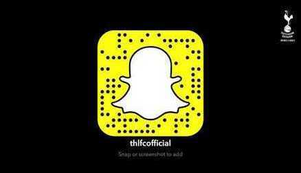 Add thlfcofficial on Snapchat!
