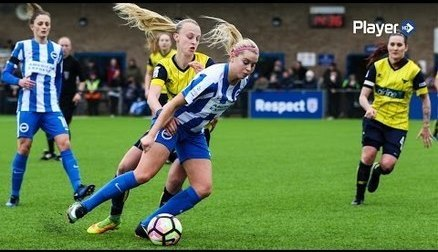 FA WSL HIGHLIGHTS: ALBION  1 OXFORD UNITED 1
