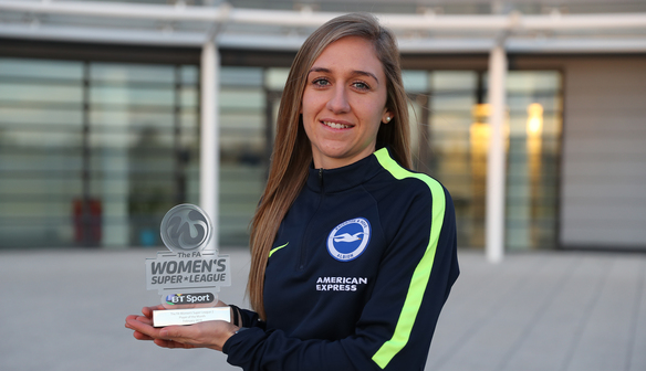 WHELAN NAMED FA WSL 2 PLAYER OF THE MONTH