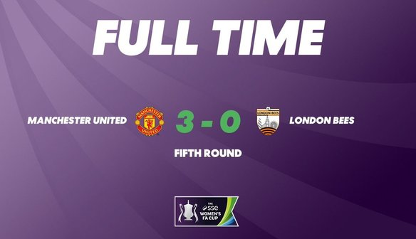 Report | Manchester United Women 3-0 Bees