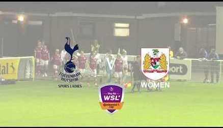 Tottenham Hotspur Ladies 2-0 Bristol City Women