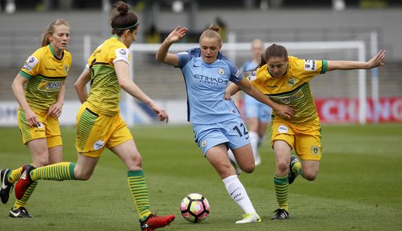Match Report v Manchester City Ladies