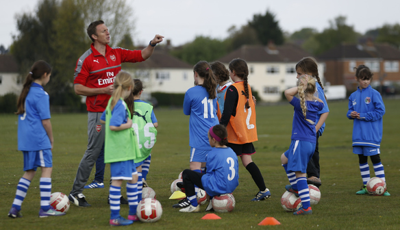 Book your child's place on our Arsenal Ladies Soccer Schools!