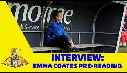 GAFFER TALK: Emma Coates - Pre-Reading