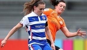 Lauren Bruton under pressure at London Bees