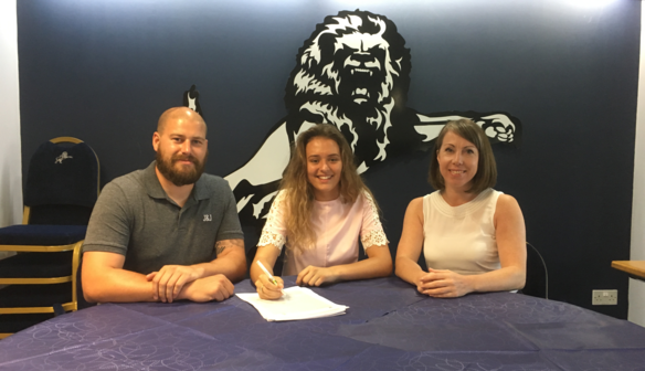 Ella Rutherford Signs Two Year Contract