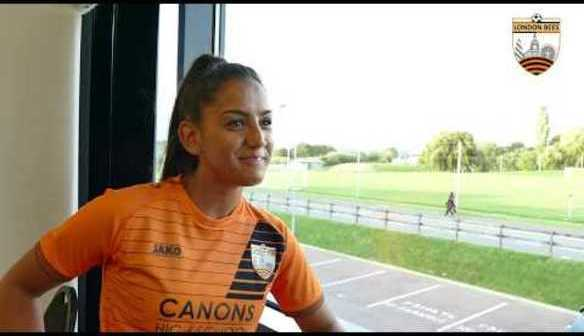 Interview   Rosie Kmita talks after joining the Bees!