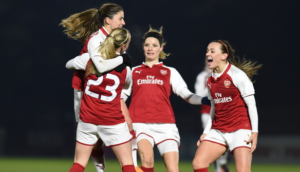 Sharpshooter Mead hits the mark to fire Arsenal into third