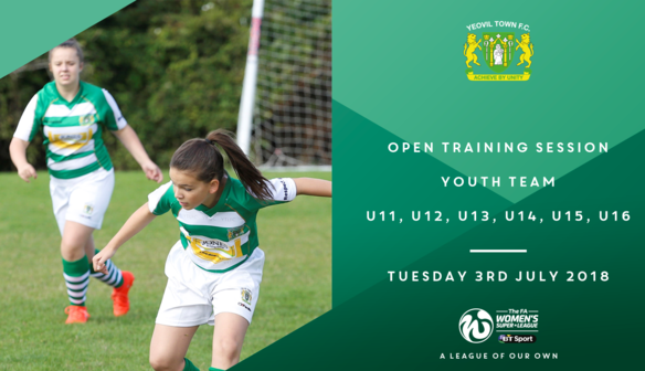 Youth Team Open Training Session