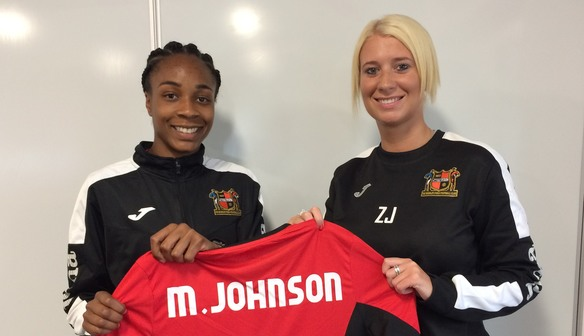Forward Melissa Johnson Joins Club For New Season