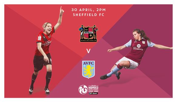 Preview: Aston Villa (H), Sunday 30 April 2017
