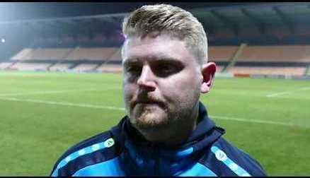 Reaction | Luke Swindlehurst speaks after 2-1 win over Aston Villa