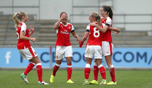 Nobbs on target as Arsenal get the better of Manchester City