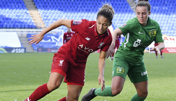 Liverpool's number nine: Courtney Sweetman-Kirk