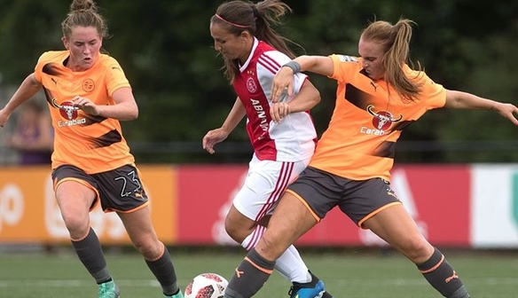 Women hold Ajax in 1-1 friendly draw