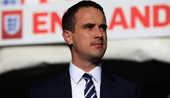 England Manager Mark Sampason