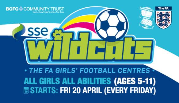WILDCATS GIRLS' FOOTBALL CENTRES