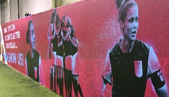 Ladies Feature In Villa Artwork