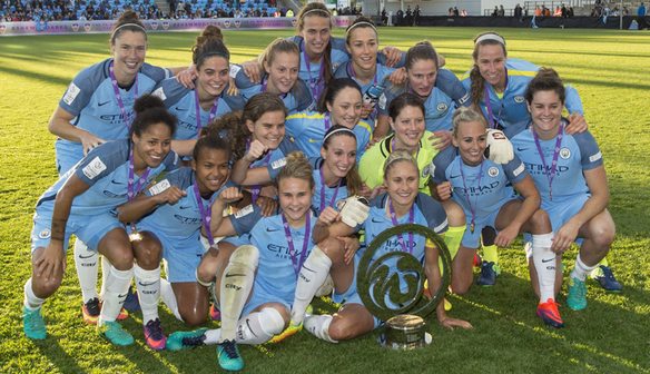 Manchester City won The FA WSL Continental Cup in 2016