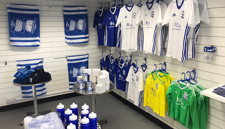 Blues Ladies have a range of ladies merchandise available on matchdays.