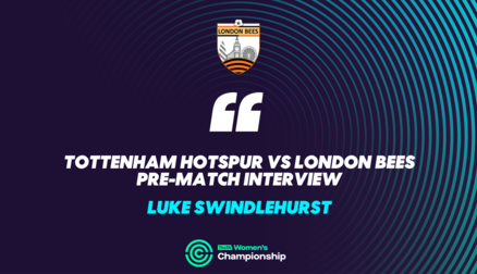 Interview | Luke Swindlehurst ahead of Championship opener at Spurs