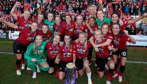 Manchester United won the FA Women's Championship title