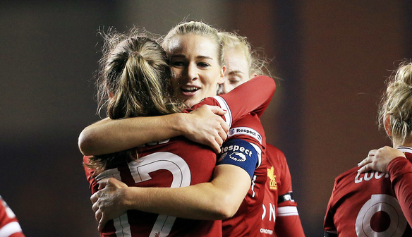Liverpool through to quarters after five-star victory