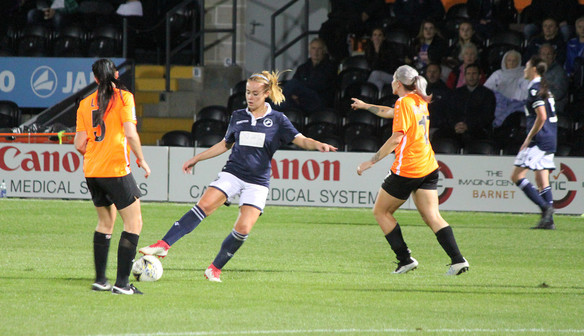 London Bees 2-1 Millwall Lionesses