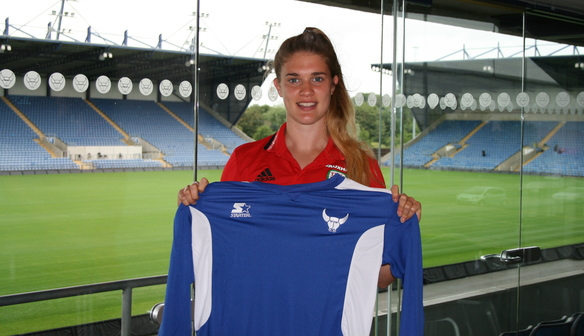Wales International Goalkeeper, Claire Skinner signs for the U's
