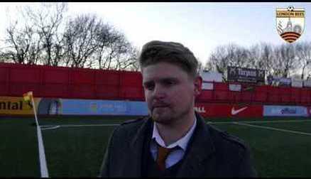 Reaction   Luke Swindlehurst speaks after 3-3 draw at Aston Villa
