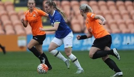 London Bees v Everton Ladies   Extended Highlights
