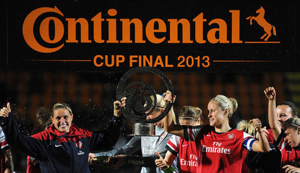 Continental Cup Final 2013 trophy