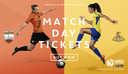 Come and support London Bees in their first game of the season against Doncaster Rovers Belles.