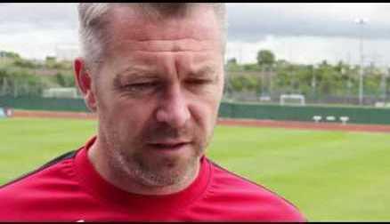 Willie Kirk Pre Match Interview