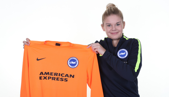 ALBION SIGN YOUNG GOALKEEPER
