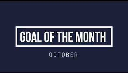 Goal of the Month - October