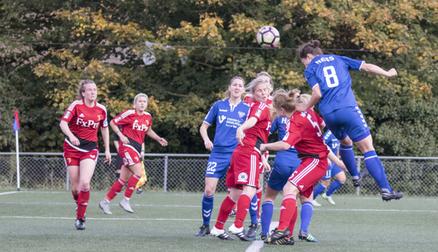 Zoe Ness Scoring Durham's first goal - Durham 4 - 0 Watford