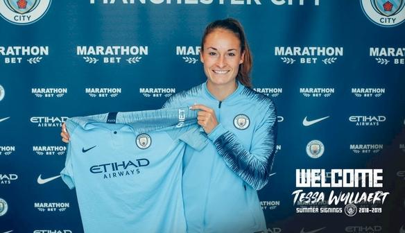 City sign Tessa Wullaert from Wolfsburg