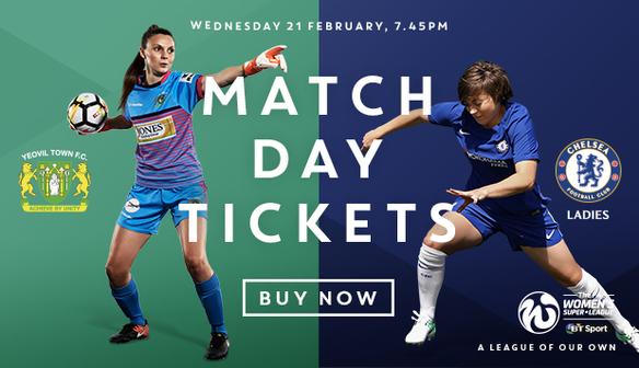 FANS GUIDE – Wednesday 21st February v Chelsea Ladies FC
