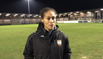 Reaction | Rachel Yankey after defeat to Millwall