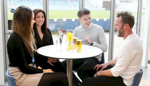 Man City Women seasonal hospitality