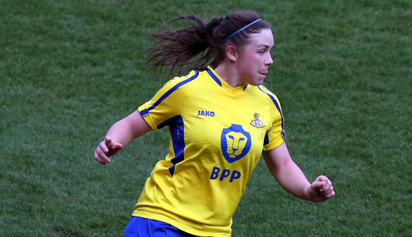 Kirsty Hanson double helps Belles to down Durham