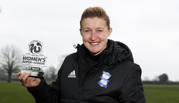 ELLEN WHITE NAMED FA WSL 1 PLAYER OF THE MONTH