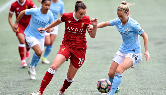 Reds visit to Manchester City Women to kick off at 12.30pm