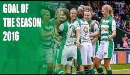 Yeovil Town Ladies FC - GOAL OF SEASON 2016