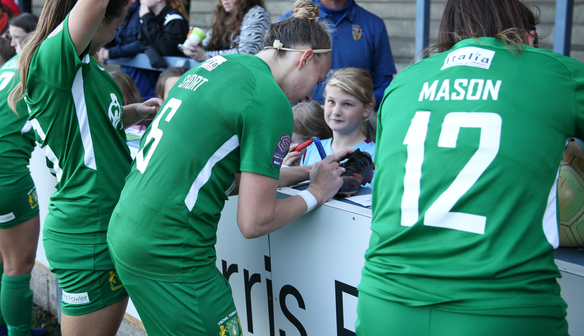 Yeovil Town Ladies launch Kids For A Quid initiative for Everton match