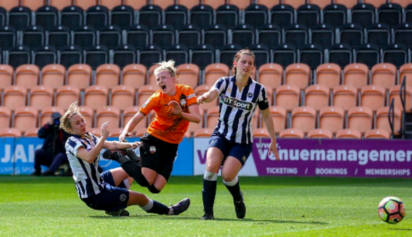 Apr 15 London Bees 1 Millwall Lionesses 2