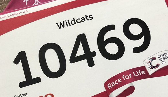 SUPPORT: Wildcats Run Race For Life