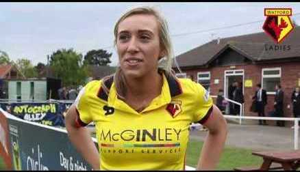 Charlotte Kerr speaks after two goals against Oxford United